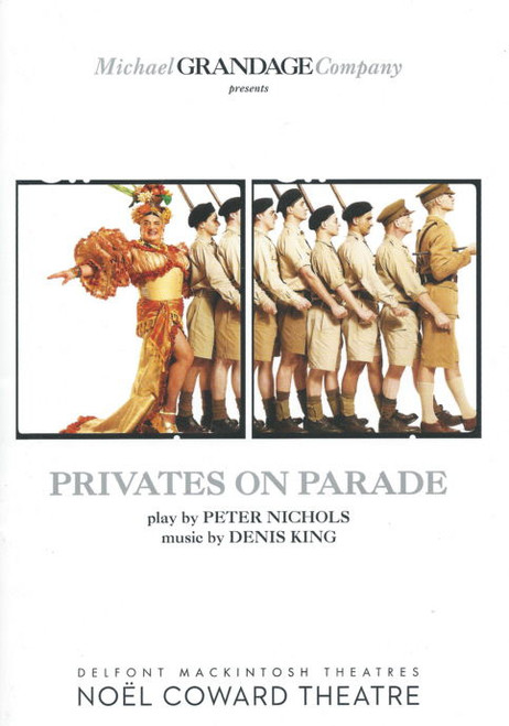 Privates on Parade (Play), Joseph Timms, John Marquez, Simon Russell Beale, Sam Swainsbury, London Program Noel Coward Theatre UK 2012
