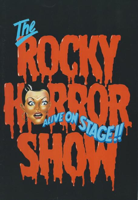The Rocky Horror Show (Musical)Daniel Abineri - Russell Crowe, Souvenir Program 1987 Australian Production