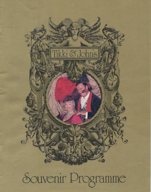 Tikki and Johns's Theatre Music Hall (Musical) 1983, Tikki - Joyce Taylor and John Newman, Vikki Hammond, Frank Wilson, Margo Lee, Maurie Fields, Gus Mercurio, Jackie Clancy