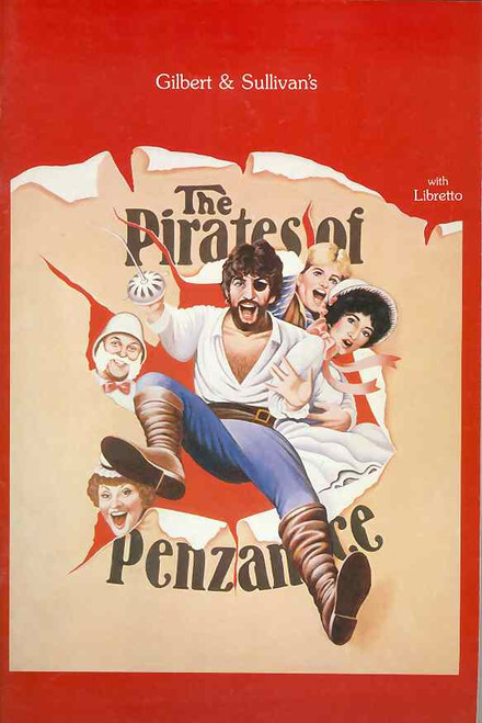 The Pirates of Penzance (Opera), Jon English, Simon Gallaher, June Bronhill, Souvenir Brochure 1986 Sydney Australian Lyric Theatre