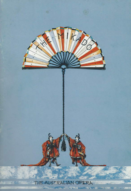 The Mikado (Musical), The Australian Opera Michael Smith, John Germain, Graeme Ewer, Souvenir Brochure 1985 Sydney Opera House