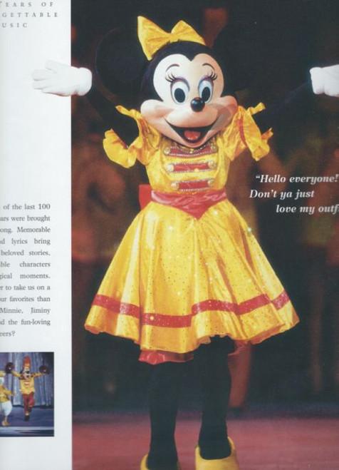 Disney on Ice 100 Years of Magic (Variety) Australian Tour 1999, Souvenir Brochure - Minnie, Mickey, Pinocchio, Toy Story, Beauty and the Beast, Ariel, Pocahontas