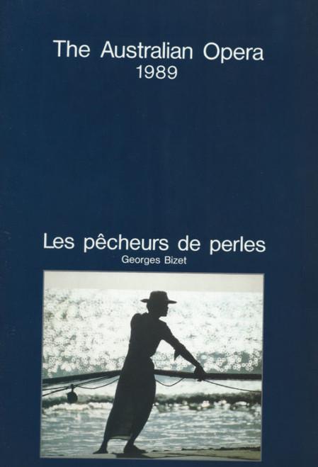 Les Pêcheurs de Perles (Opera) The Pearl Fishers 1989, Souvenir Brochure - Australian Opera