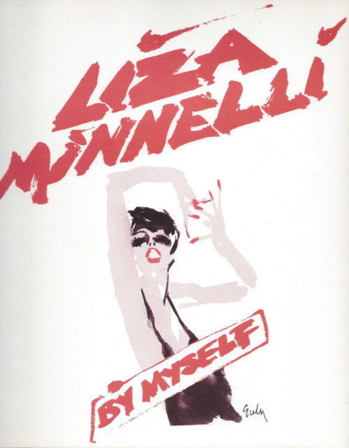 Liza Minnelli By Myself (Musical) at The Apollo Victoria Theatre London, Souvenir Brochure  1983