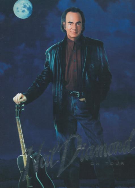 Neil Diamond (Concert) Tennessee Moon Tour, Souvenir Brochure - 1996 Neil Diamond