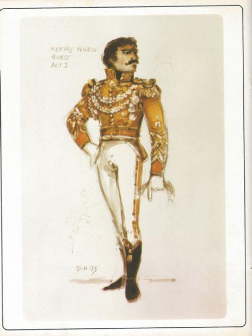 The Merry Widow (Ballet) Australian Ballet Directed by Sir Robert Helpman, Souvenir Brochure - 1981 Colin Peasley, Lynette Mann, Ray Powell