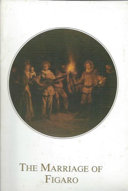 The Marriage of Figaro (Opera) Australian Opera, Souvenir Brochure - 1984 John Pringle, Glenys Fowles, Pieter van der Stolk