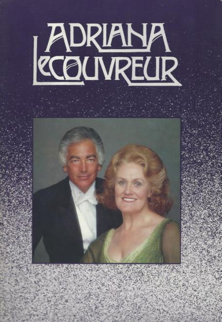 Adriana Lecouvreur (Opera) Australian Opera, Souvenir Brochure - 1984 Joan Sutherland, Anson Austin, Robert Eddie