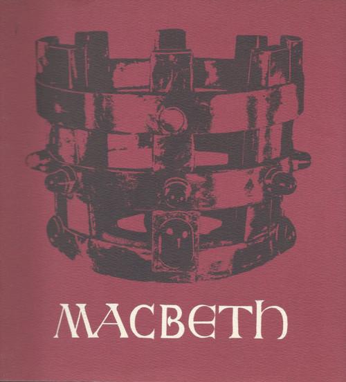 Macbeth (Opera) Marilyn Zschau, Alberto Remedios, Stuart Challender, Souvenir Brochure - Australian Opera, Sydney Opera House