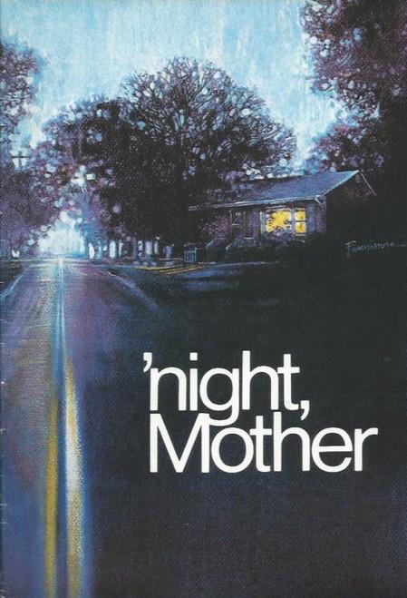 'Night, Mother (Play) Jill Perryman, June Salter, Souvenir Brochure - Australia Premiere, Perth Playouse 1984