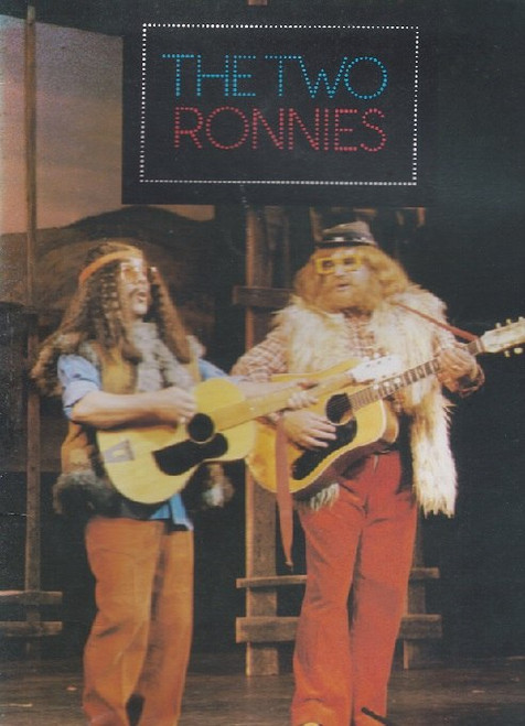 The Two Ronnies (Comedy Variety) Australian Tour 1979, Souvenir Brochure - Melbourne Her Majesty's Theatre