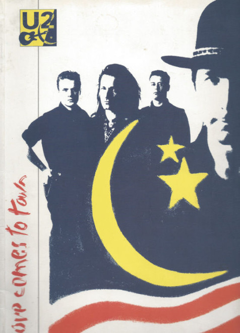 U2 Love Comes to Town (Concert) World Tour 1989, Souvenir Brochure Coffee Book Style