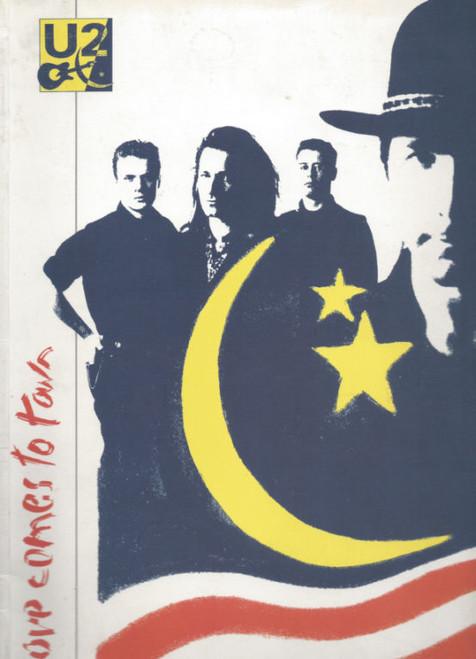 U2 Love Comes to Town (Concert) World Tour 1989, Souvenir Brochure Coffee Book Style