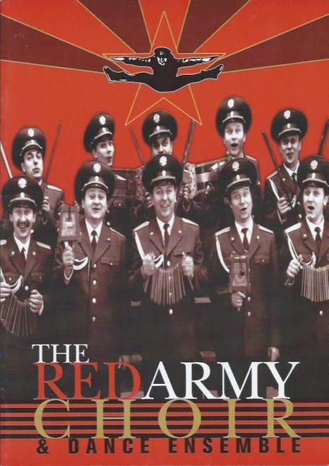 The Red Army Choir MVD Ensemble (Musical Group) Head Artistic Director Victor Eliseev SouvenirBrochure Australian Tour 1999