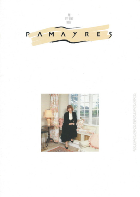 An Evening with Pam Ayres (Variety) English Poet, Comedian, Songwriter Souvenir Program Australian Tour