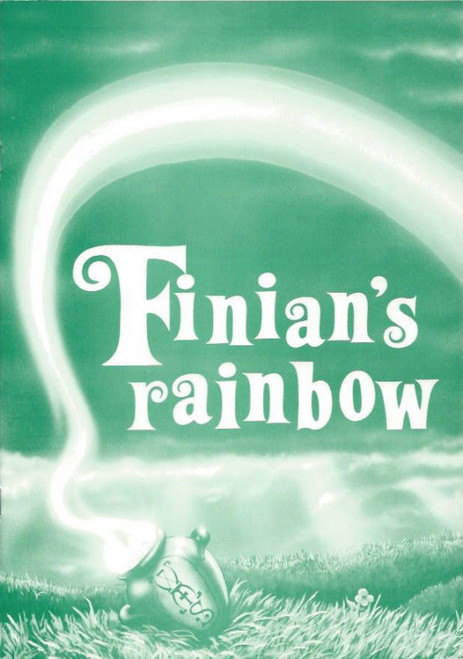 Finian's Rainbow  1986 (Musical) Michael Withall, Amanda Peterson, Mark Daniels, Souvenir Program Willoughby Musical Society