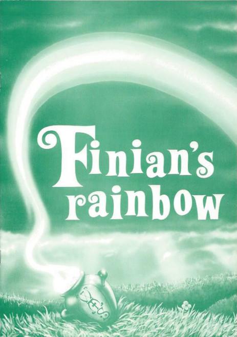 Finian's Rainbow 1986 (Musical) Michael Withall, Amanda Peterson, Mark Daniels, Souvenir Program Willoughby Musical Society