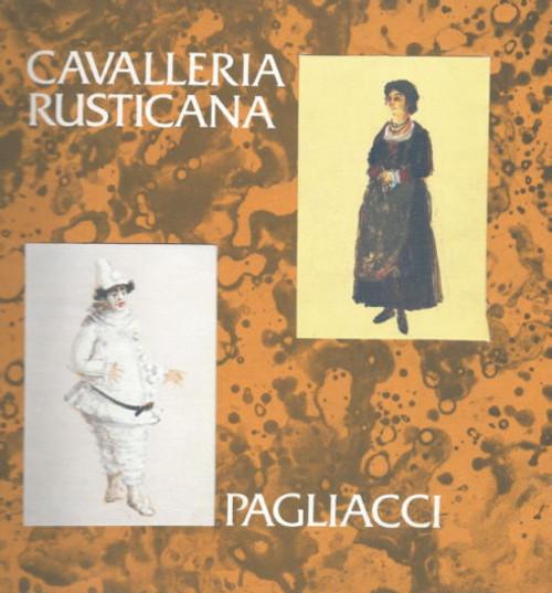 Cavalleria Rusticana (Opera) Elizabeth Fretwell, Rosina Raisbeck, Neville Wilkie, Souvenir Brochure Australian Opera 1978 Season Sydney Opera House