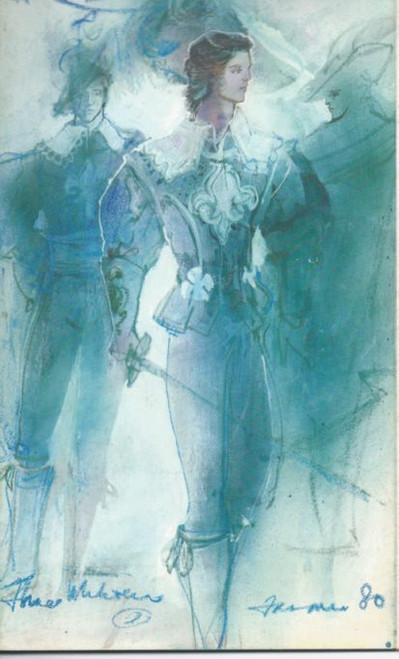 The Three Musketeers (Ballet) Andre Prokovsky, Peter Farmer, Souvenir Brochure Australian Ballet 1980 Season Sydney Opera House