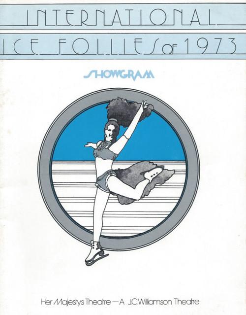 Ice Follies of 1973 (Variety Ice Skating) Directed by Hugh Hill, Paul Sharratt, Souvenir Program Australian Tour 1973