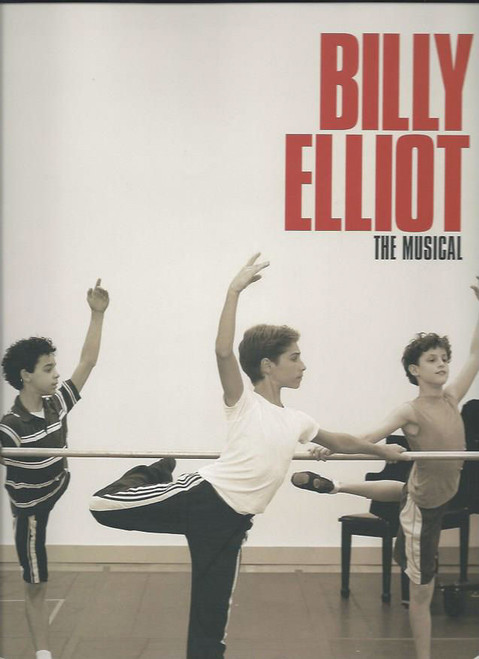 Billy Elliot (Musical)  Gregory Jbara , Haydn Gwynne , Carole Shelly, Santino Fontana, Elton John, Lee Hall, David Alvarez, Trent Kowalik, Kiril Kulish, Souvenir Brochure Broadway 2008 Production