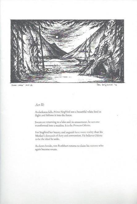Swan Lake (Ballet) Australian Ballet, Souvenir Brochure 1980 Season, Guest Artist - Aleksandr Godunov, Swan Lake Program