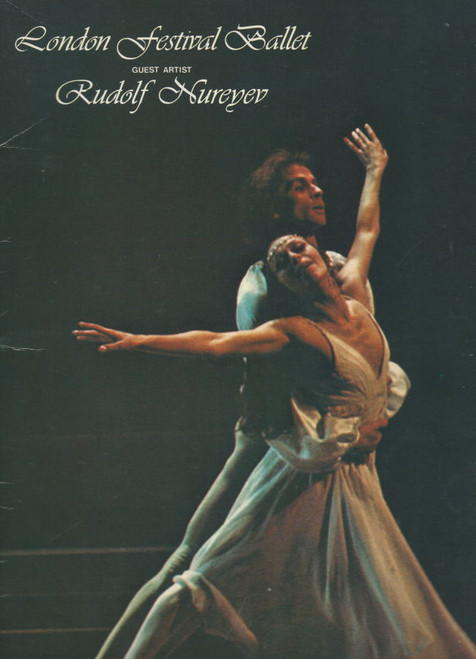 London Festival Ballet (Ballet) Guest Artist Rudolf Nureyev, Souvenir Brochure Large Format 1977 Australian Tour