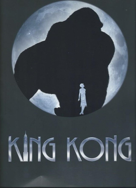 King Kong (Musical) Esther Hannaford, Adam Lyon, Richard Piper, Chris Ryan, and Kong, Souvenir Brochure 2013, Full of Pictures and information on King Kong the Musical - King Kong Program