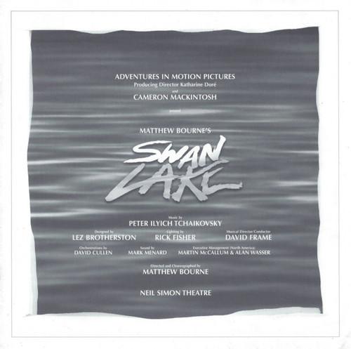 Matthew Bourne's Swan Lake (Ballet) 1998, Adam Cooper, Will Kemp, Scott Ambler, Ben Wright, SouvenirBrochure 1998 Broadway Production