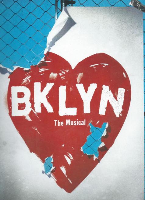 Bklyn (Musical) 2004 OBC, Kevin Anderson, Cleavant Derricks, Ramona Keller, Karen Olivo, Souvenir Program Broadway Production, with full cast insert