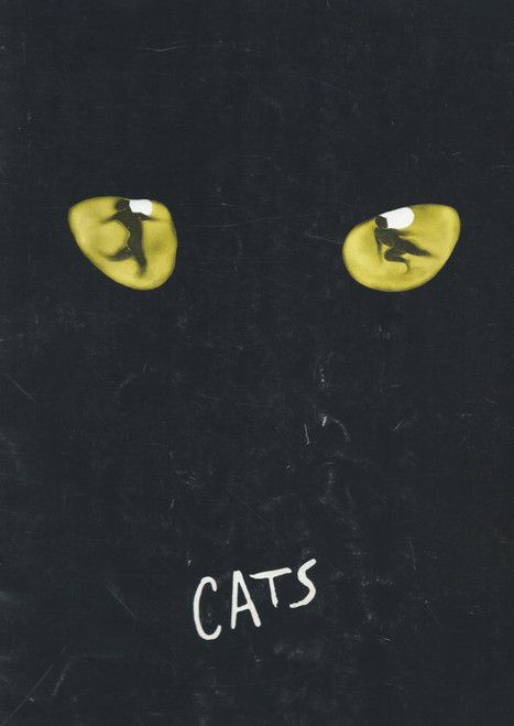 Cats (Musical) 1983 OBC Betty Buckley, Rene Clemente, Walter Charles, Ken Page, Souvenir Program Broadway Production with full cast insert