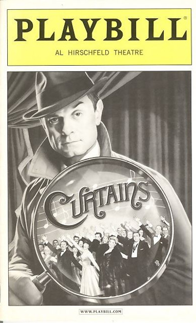 Curtains is a musical with a book by Rupert Holmes, lyrics by Fred Ebb, and music by John Kander, with additional lyrics by Kander and Holmes.