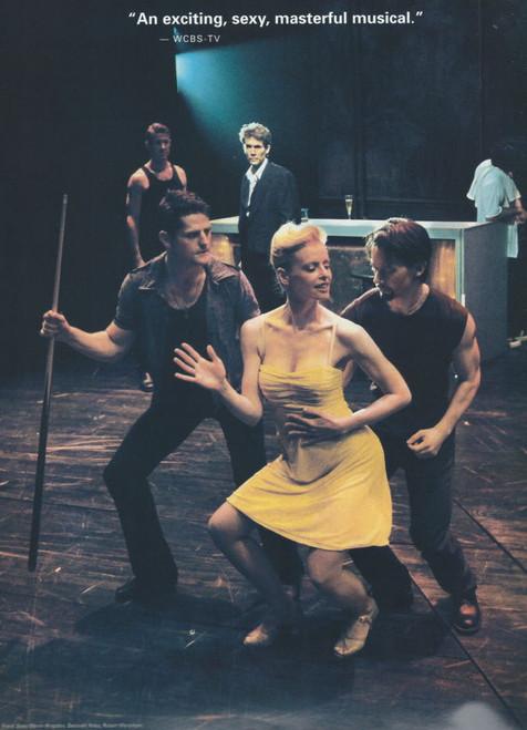 Contact (Musical) 2000 OBC, Jason Antoon, Boyd Gaines, Deborah Yates, Jack Hayes, Souvenir Program Broadway Production (with full Cast Insert)