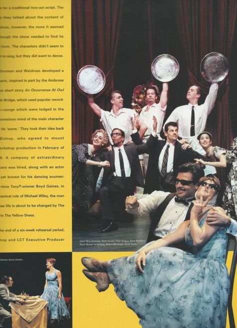 Contact (Musical) 2000 OBC Jason Antoon, Boyd Gaines, Deborah Yates, Jack Hayes, Souvenir Program Broadway Production with cast and creative insert