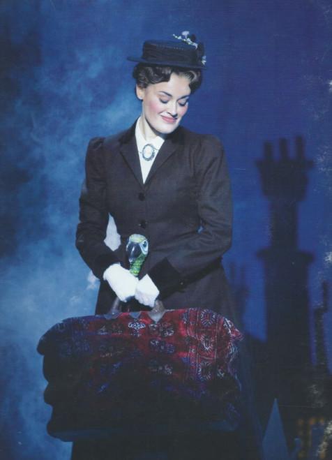 Mary Poppins (Musical), Scarleet Strallen, Adam Fiorentino, Daniel Jenkins, Souvenir Brochure 2008, Broadway Production -(with insert Cast)
