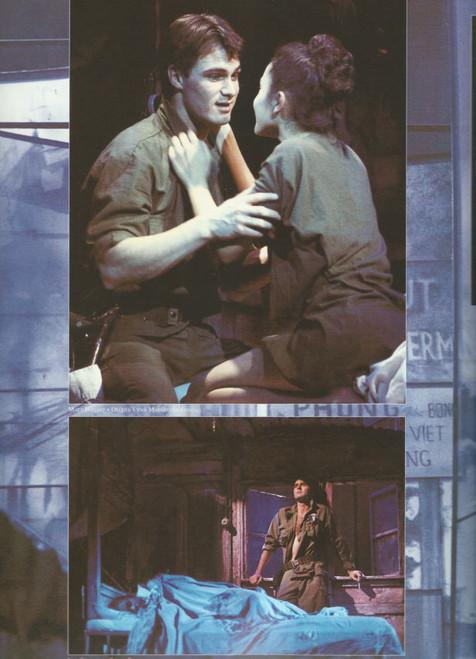 Miss Saigon 1998 (Musical) Music by Claude-Michel Schonberg, Souvenir Brochure 1998 Broadway Production