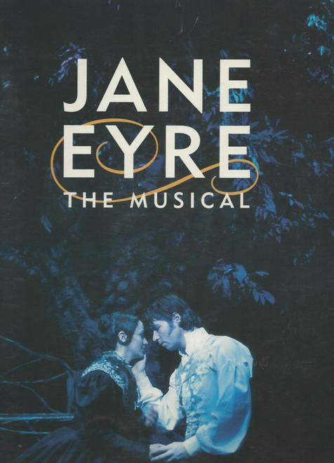 Jane Eyre (Musical), Marla Schaffel, James Barbour, Mary Stout, Elizabeth DeGrazia, Souvenir Brochure