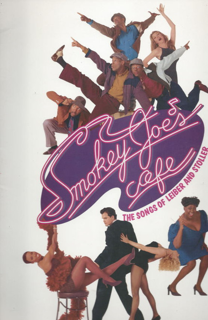 Smokey Joes Cafe (Musical) 1995 Jerry Leiber, Mike Stoller, Ken Ard, Adrian Bailey, Souvenir Brochure Broadway Production Including Full Cast and Creative Insert