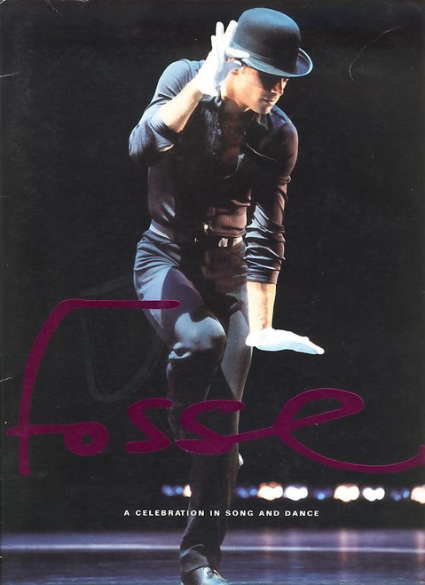 Fosse (1998 Musical-Dance) Souvenir Brochure, Broadhurst Theatre, NY, USA, One of the best souvenir brochure many beautiful photos from the show and lots of information on Bob Fosse.