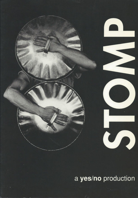 Stomp (Percussion) created by Luke Cresswell and Steve McNicholas, Souvenir Brochure