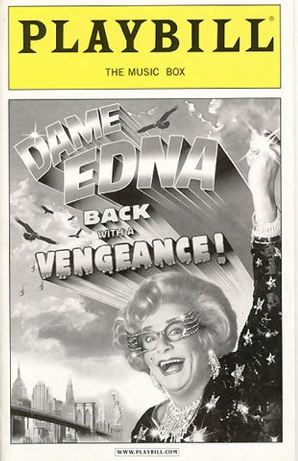 Dame Edna Everage is a character played by Australian dadaist-comedian Barry Humphries. As Dame Edna, Humphries has written several books including an autobiography