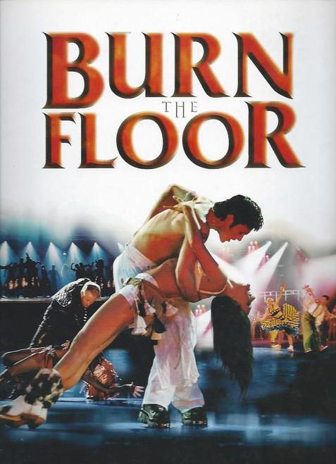 Burn the Floor (Dance), Eric and Sanna Hento, Sasha and Olga Zenkevitch, Australian Tour 2012 Souvenir Brochure