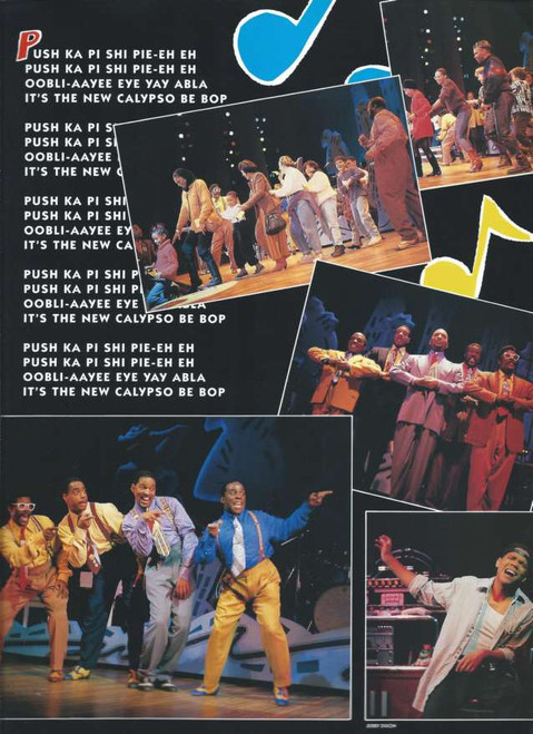 Five Guys Named Moe (Musical) Jerry Dixon, Doug Eskew, Milton Craig Nealy, Kevin Ramsey, Jeffrey D Sams, Glenn Turner, Broadway 1992 Souvenir Brochure