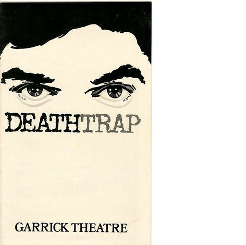Deathtrap  is a play by Ira Levin in 1978 which encompasses many plot twists and is essentially a play within a play. It is a play in two acts with one set and five characters.