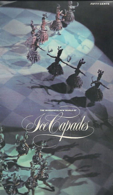 Ice Capades (Ice Skating Revue) World Tour 196, Souvenir Program a fun piece of memorabilia, a great addition to any show collection