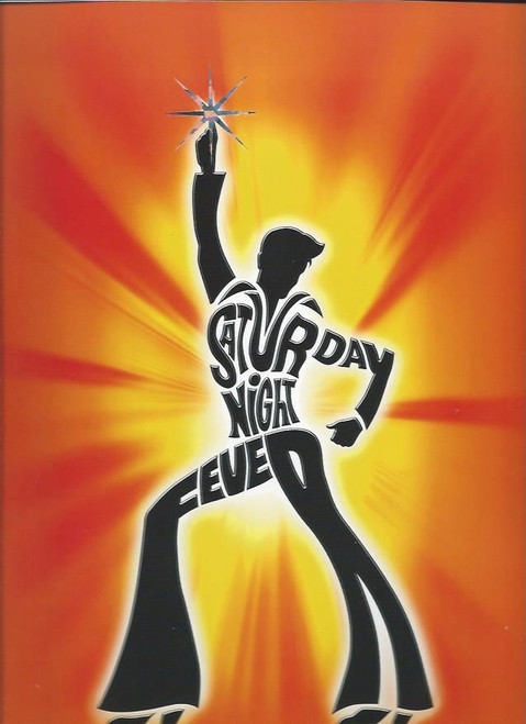 Saturday Night Fever the Musical, Souvenir Brochure 2004 Australia Tour, Size 240 x 330 cm Full of beautiful colour pictures of the cast and show