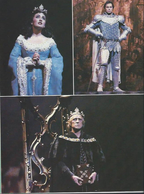 Camelot (Musical), Richard Harris, Richard Muenz, Marina Prior, Souvenir Brochure Date 1984