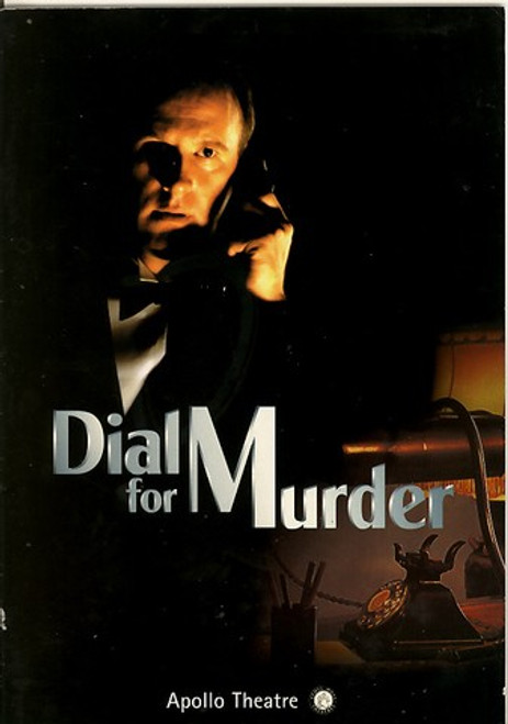 Dial M for Murder  the screenplay and the stage play on which it was based were both written by English playwright Frederick Knott (1916–2002)