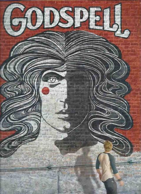 Godspell (Musical) Revival Starring Hunter Parish, Wallace Smith, Uzo Auba, Nick Blaemire Souvenir Brochure Date 2011 Broadway Season