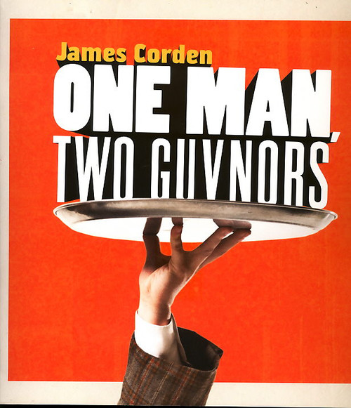 One Man Two Guvnors Broadway NYC 2012, James Corden and Tom Edden, Broadway Program, One Man Two Guvnors program